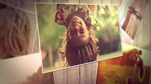 SlideShow Memory After Effects Template