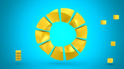Rotating Geometric Shape Animation