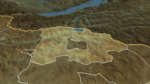 Selenge - province of Mongolia. Physical Animation