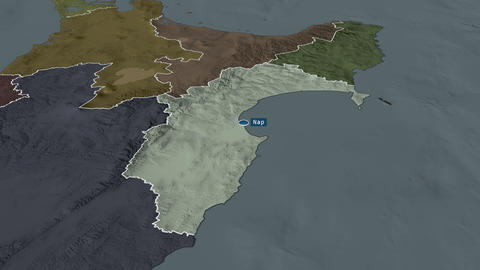 Hawke's Bay - regional council of New-Zealand. Administrative Animation