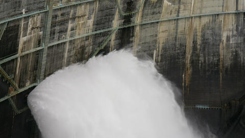Dam toyama kurobe V1-0023 Footage