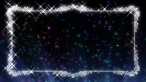 20160203 twinkleLight B bk PJ CG動画素材