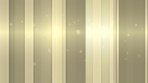 光沢のあるストライプ-シャンパンゴールド CG動画