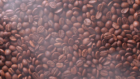 coffee beans are roasting Live Action