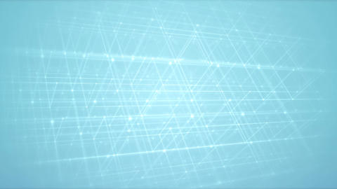 Clean 3D Grid Structure Animate Animation