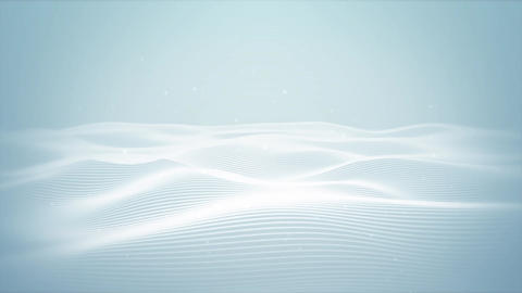 Clean Wave Background Animation