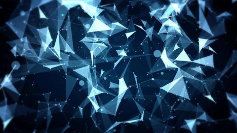 Dark Plexus Background Animation