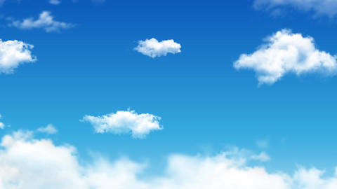 Cloud and sky animate background Animation