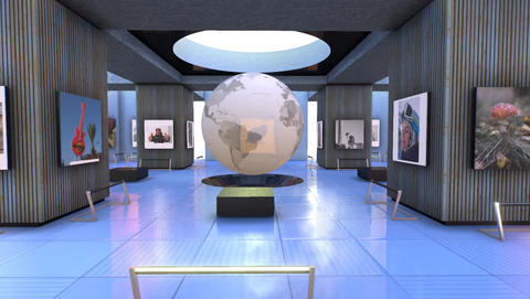 Virtual Gallery MOV version Animation
