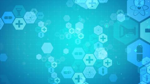Medical Science Presentation Background Animation