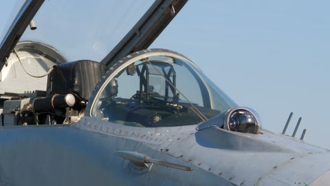 Pitot Tube (probe) and IRST sensor of Socialist Russia USSR era aircraft MiG 29 Live Action