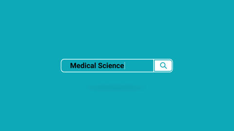 Medical Science Search Engine Online Animation