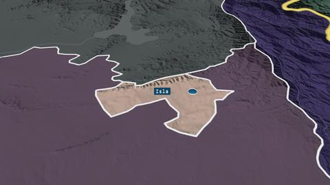 F.C.T. - capital territory of Pakistan. Administrative Animation