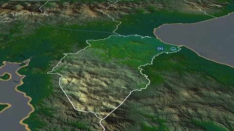 Herrera - province of Panama. Physical Animation