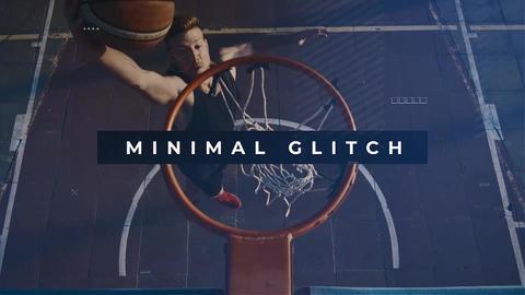 Minimal glitch Promo Premiere Proテンプレート