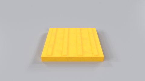 Braille block02 Modelo 3D