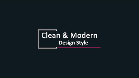 Clean And Simple Title Motion Graphics Template