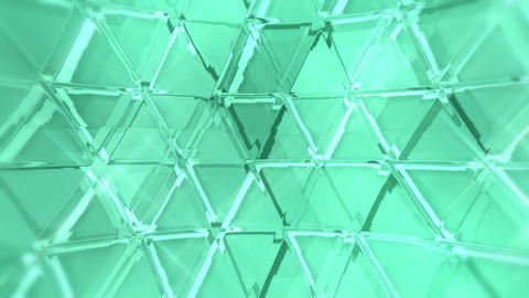 20161002 triMosaicGlass A green PJ Animation