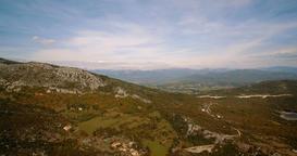 070 Aerial Jezero Krupac Lake Montenegro 05 4K Footage