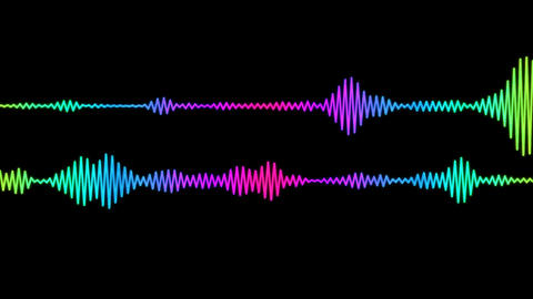 Digital Audio Spectrum Animation