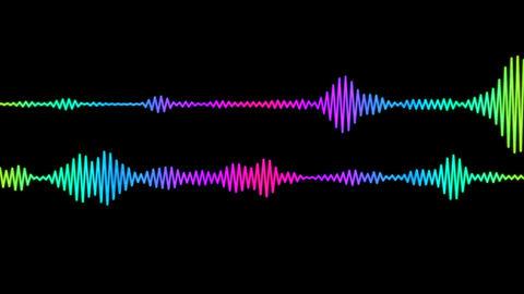 Digital Audio Spectrum Animation