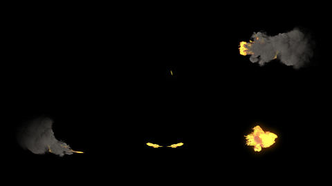 Slowly Realistic Smoke And Fire Motion Graphics Pack Animation