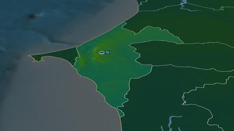 Thiès - region of Senegal. Physical Animation