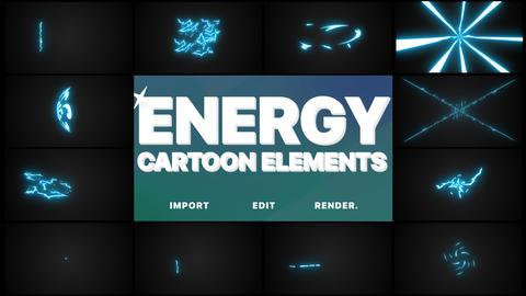 Cartoon Energy Elements Pack Animation