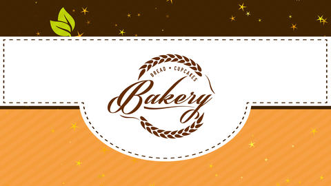 food and cupcakes cookery retailer offering variation of pastry products done instantly to keep the CG動画