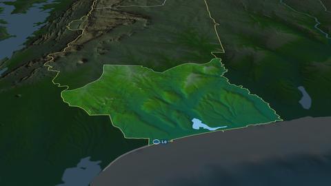 Maritime - region of Togo. Physical Animation