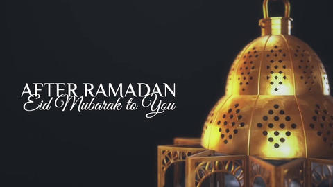 After Ramadan Kareem Apple Motion Template