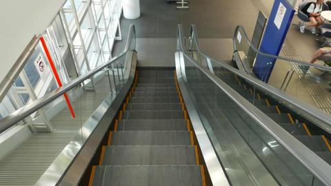 Escalator POV Live Action