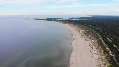 Empty Shoreline - Drone Live Action