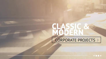 Clean Corporate After Effects Project