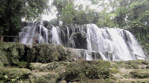 Villa Luz waterfalls near Tapijulapa, Tabasco, Mexico Acción en vivo