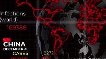 Coronavirus Spread Map - 2
