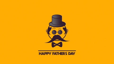 Fathers Day Logo Promo After Effects Template