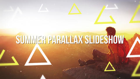 Summer Parallax slideshow After Effects Template