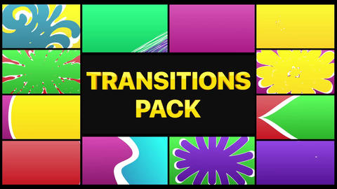 Colorful Smooth Transitions After Effects Template