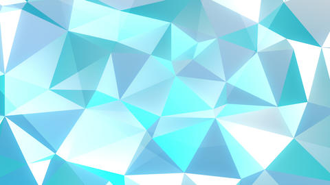 Animated Dual Color Triangle Fractal Backdrop Animation