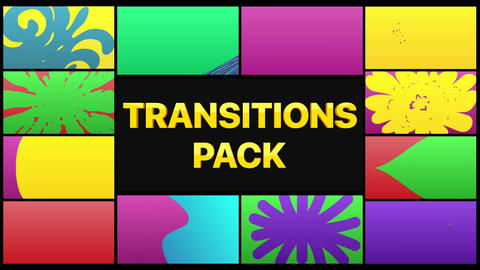 Colorful Smooth Transitions Plantillas de Motion Graphics
