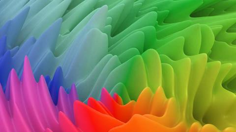 Color wave Modern Geometric shape Modern design Live Action