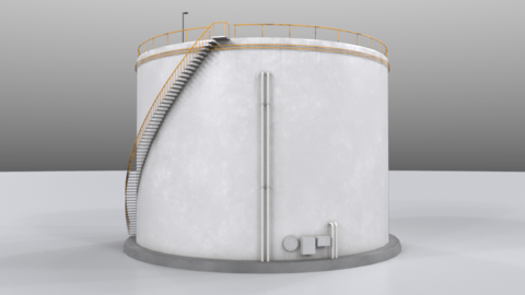 Tank02 3D Model