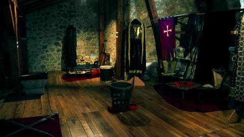 the knight's room in the castle Live Action