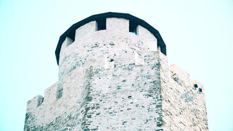 old dome on a fortress in serbia GIF