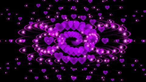 VISUAL PURPLE HEART SHOW Animation
