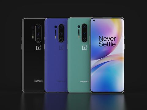 OnePlus 8 Pro In All Official Colors Modelo 3D