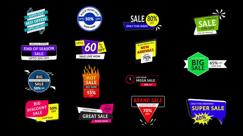 Sales Badges 3 0 After Effects Template