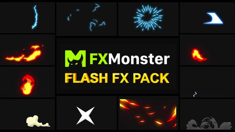 Flash FX Elements Motion Graphics Pack 02 Animation