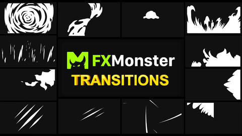 Stylish Transitions Motion Graphics Pack Animation
